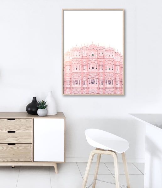 hawa mahal print india travel photography print