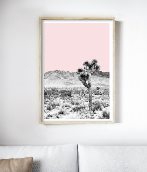 california desert art print