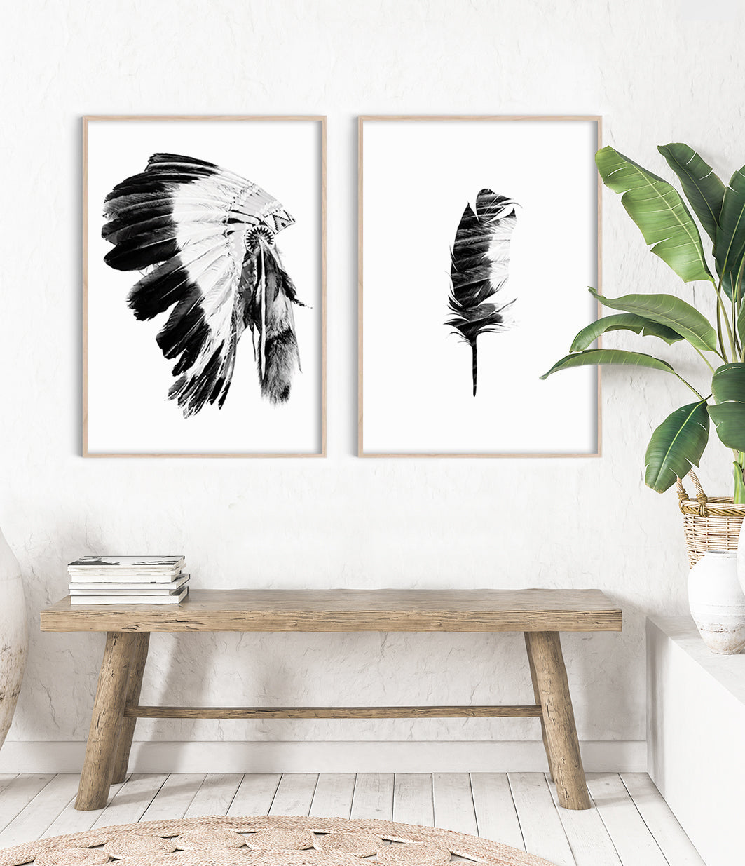 modern boho prints boho art tribal prints