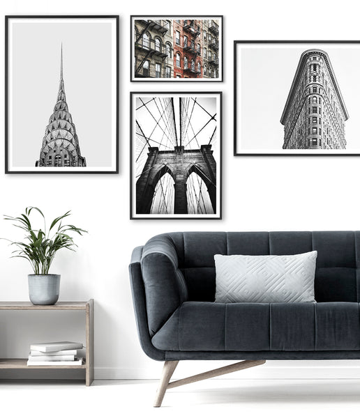 new york photography prints black and white
