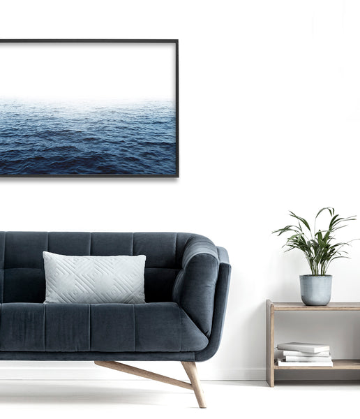 ocean wall art coastal print