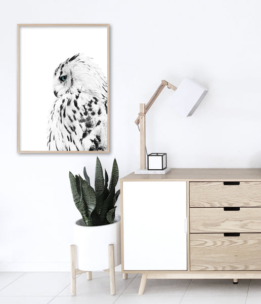 scandinavian living room art owl print scandinavian decor