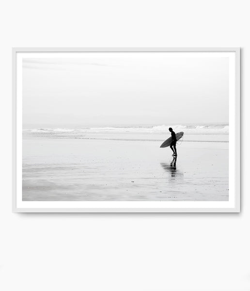 surfer print beach prints australia