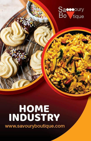 Home Industry Collection Showing Biscuits and Chevda- Savoury Boutique