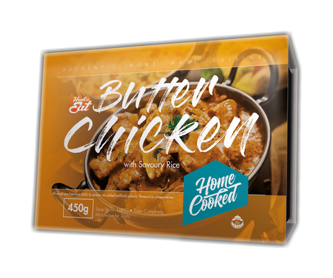 Butter Chicken with Savoury Rice