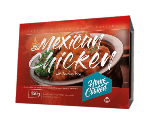 Mexican Chicken with Savoury Rice| Heat in 3 Mins | Shop now