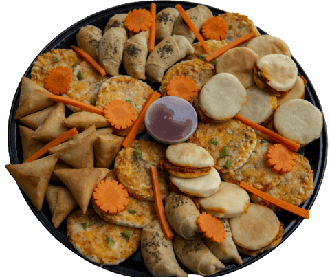 Veg Savoury Platter (1/2 available) - Customisable