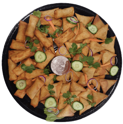 Samoosa and Springroll Platter Ready To Eat Savoury Boutique