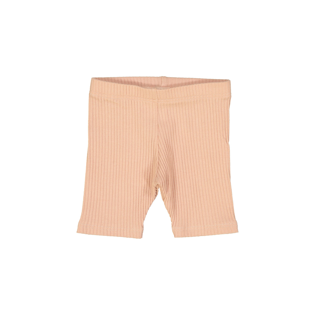 Blush Ribbed Shorts