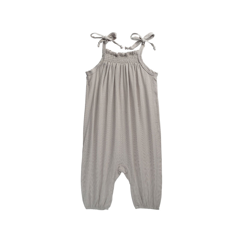 Silver Tied Dapper Romper - By POSH