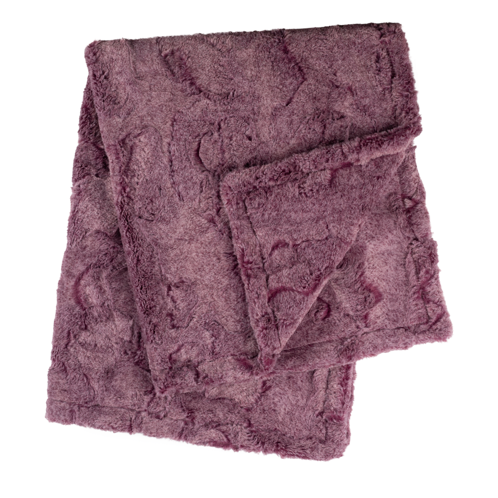 Heather Sangria Lux Cuddle Blanket - by POSH