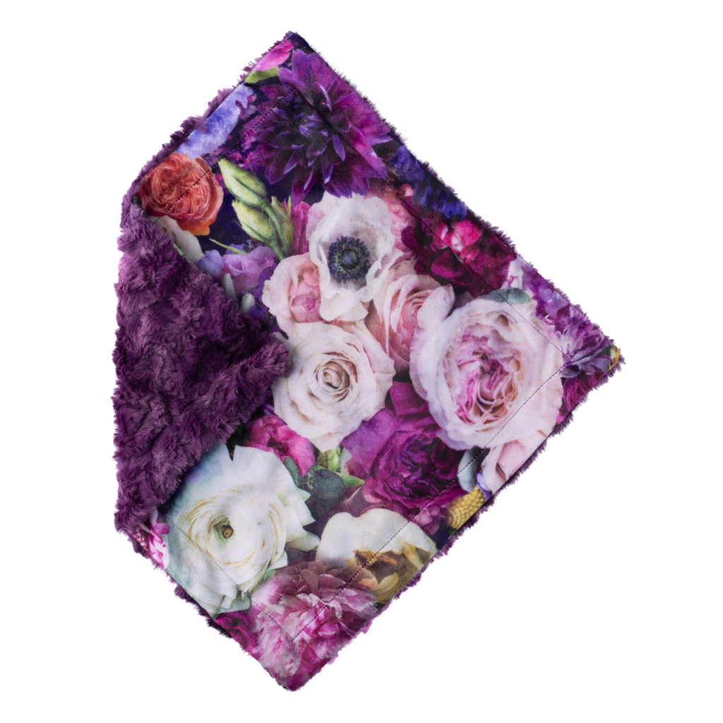 The Mini - Hoffman Violet Peony - by POSH
