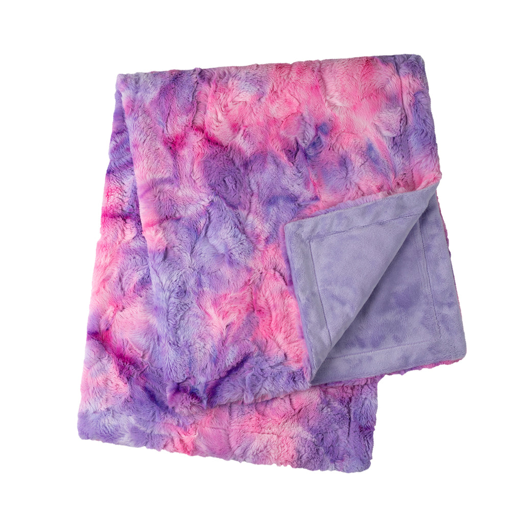 Tie-Dye Unicorn Cuddle Blanket
