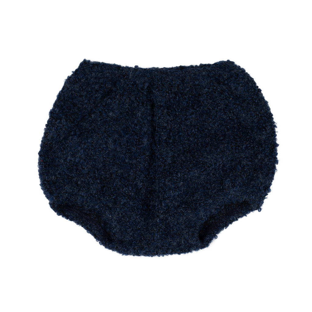 Midnight Bouclé Bloomer - By Posh