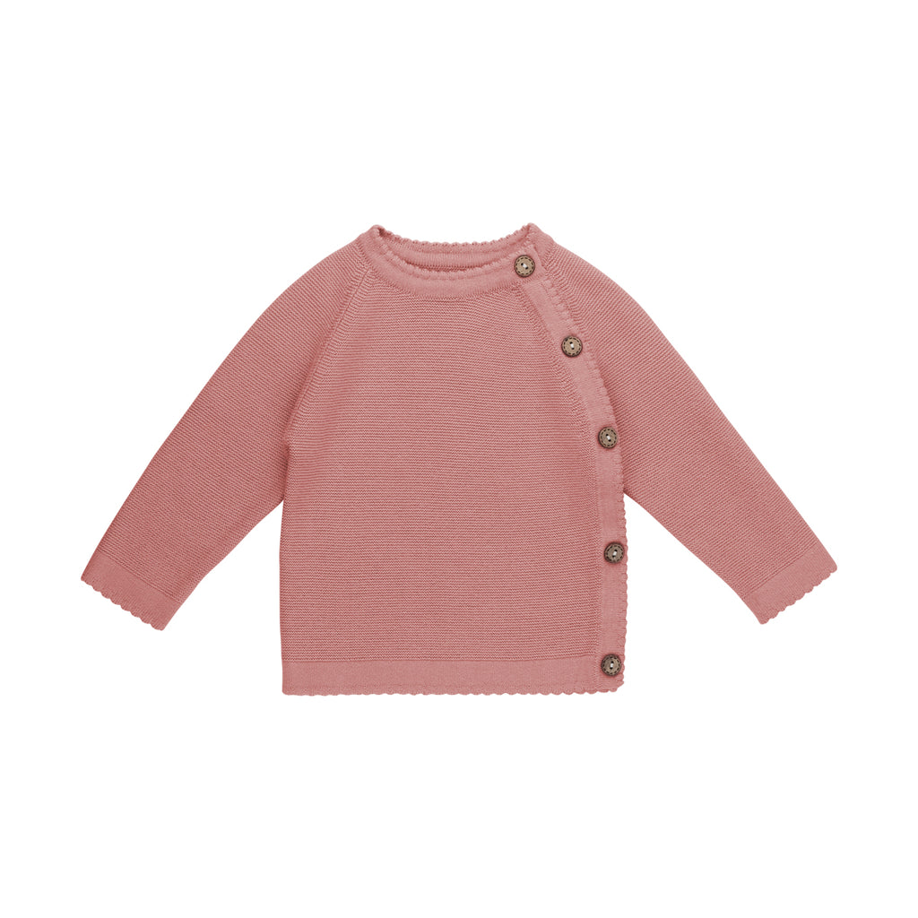 Rose Crossover Link Knit Sweater - By POSH