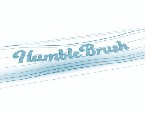 How Humble Brush is made, part 1: Philosophy & Design