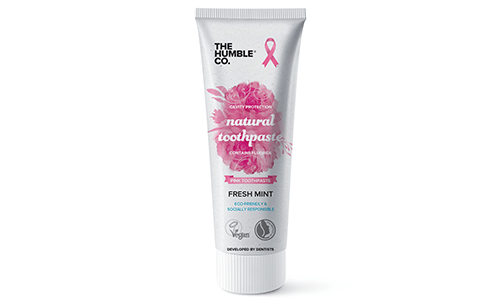 Humble's Natural Toothpaste Goes Pink for Breast Cancer Awareness