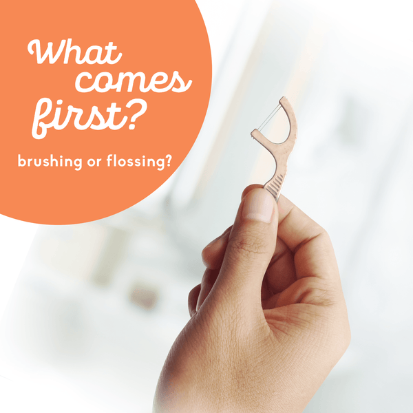 What Comes First: Brushing Or Flossing?