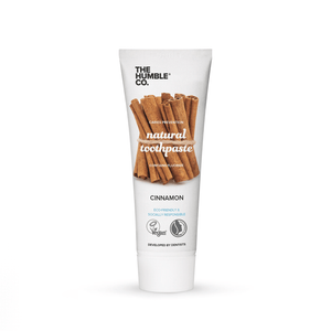 Natural Toothpaste – Cinnamon with fluoride - The Humble Co.
