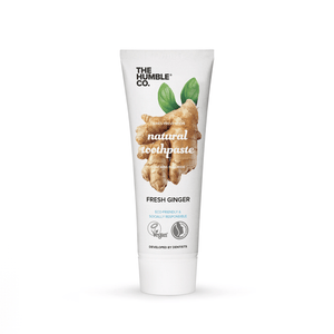 Natural Toothpaste – Ginger with fluoride - The Humble Co.