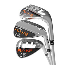 PNP RAKE Golf Wedge Club Sand Gap Lob Clubs