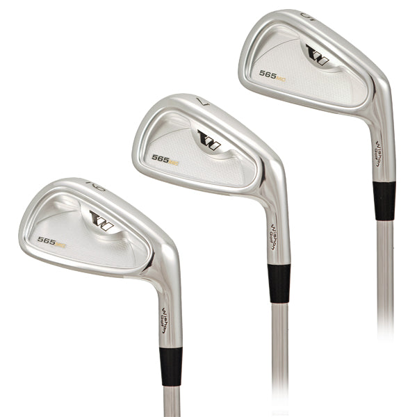 Wishon 565MC Forged Iron Set | #3 - AW | Stiff 6.0 Steel (Flowed)
