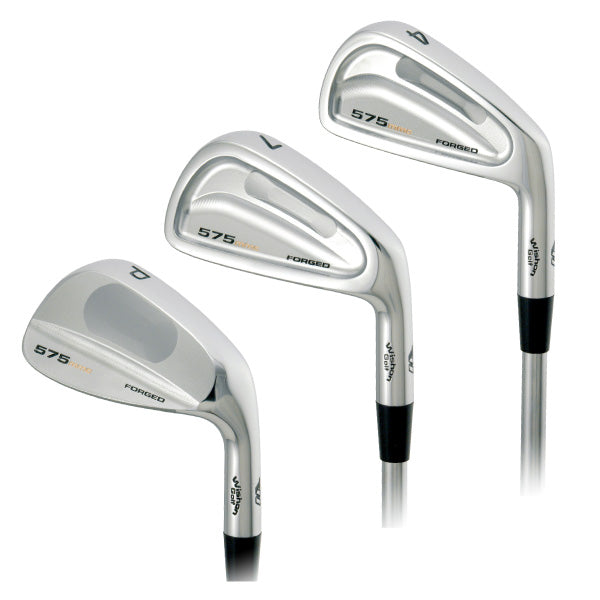 Wishon 575MMC Forged Iron Set | #3 - AW | Stiff 6.0 Steel (Flowed)