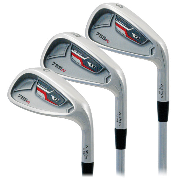 Wishon 755PC Irons Club Set | #4 - AW | Ladies Flex Graphite (Flowed)