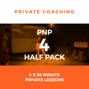 PnP Private Golf Coaching - 4 Half Pack