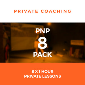 PnP Private Golf Coaching - 8 Pack