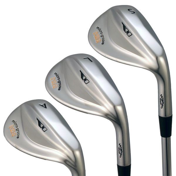 Wishon Micro Groove HM Wedge Club Set | 52 - 60 | Stiff 6.0 Steel | Uncut