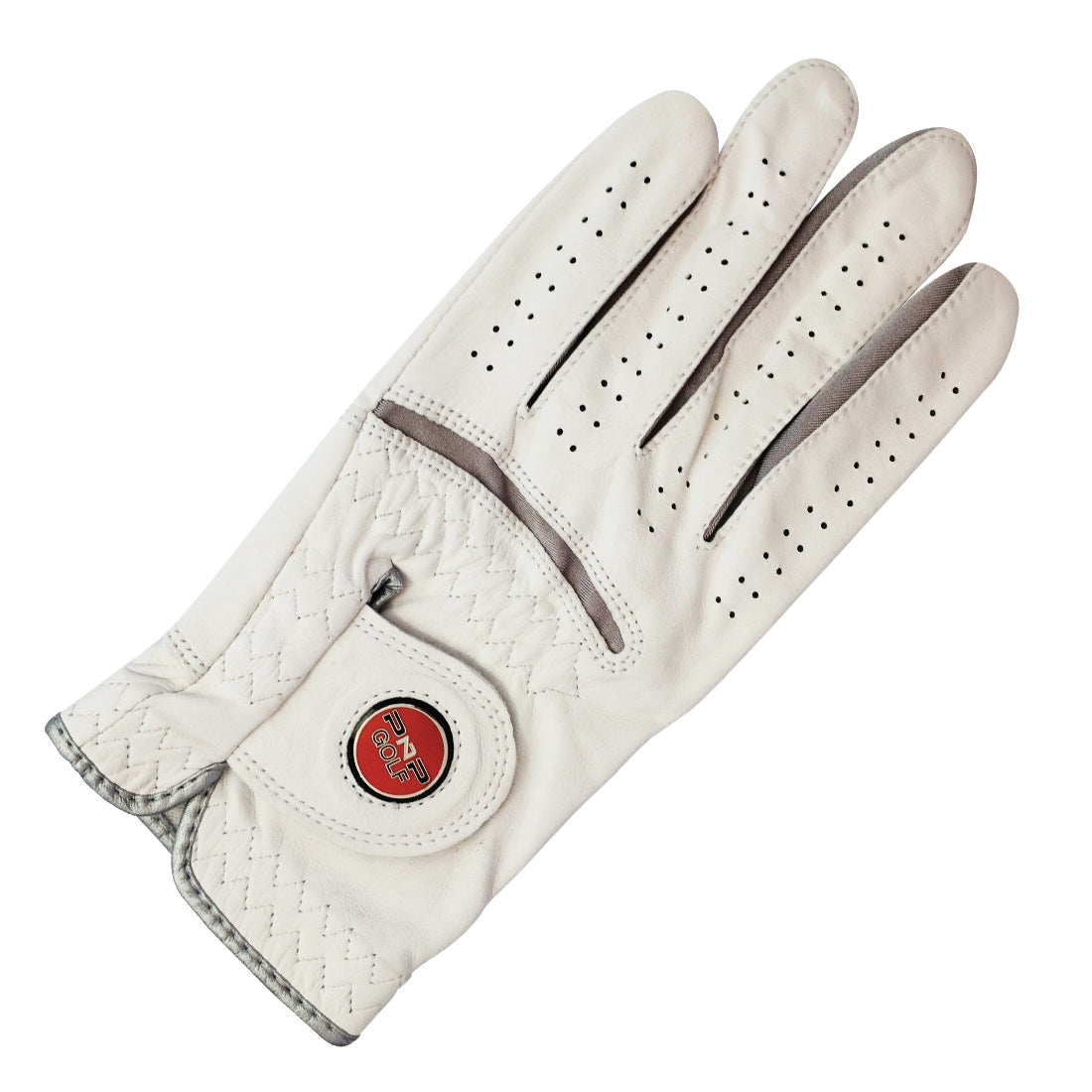 PnP Leather Golf Glove with Magnetic Ball Marker