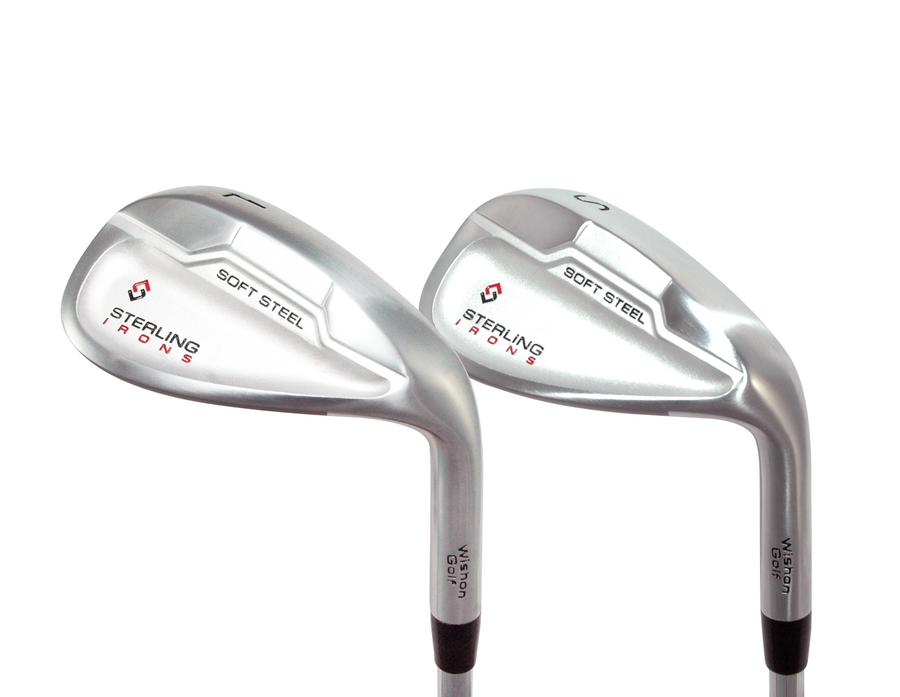 Wishon Sterling Irons Club Set | 4 - SW | 37 Set - Reg 5.0 Steel (Flowed)