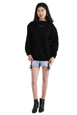 Logo Embroidered Sweater