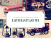 Vintage decorating ideas for restaurants and pub