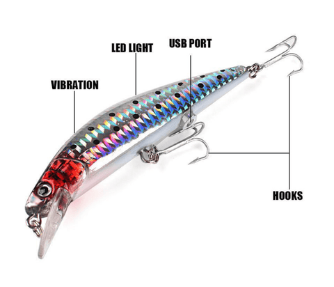 Rechargeable Fishing Lure