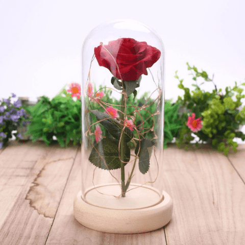 Romantic Rose In Bottle