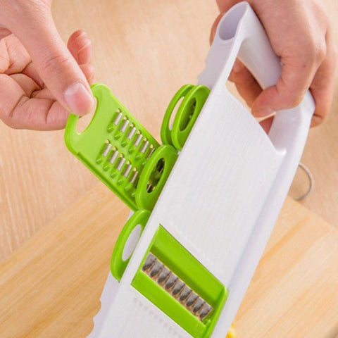 5 in 1 Multi-function Plastic Vegetable Fruit Slicers Cutter