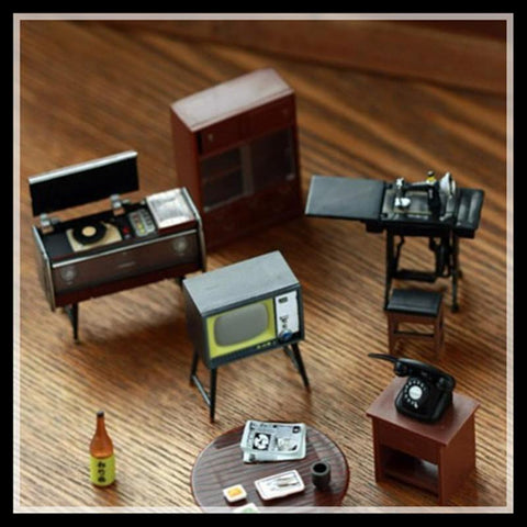 6 Pieces/Set High Quality Retro Furniture Fridge Magnets