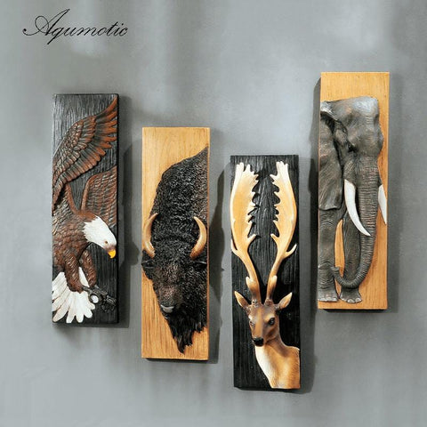 3D Animal Wall Stickers