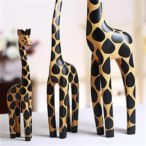 Giraffe Figurine Animal for restaurant and bar decor