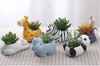 Image of Cute Animal Shaped Succulent Planter For Home Decoration