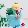 Image of Garden Little Prince Creative Succulent Plants Decorative Flower Pot