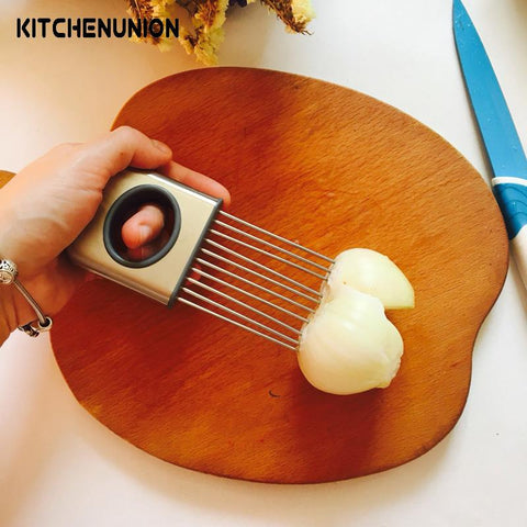 Easy Cut Onion Holder Slicer