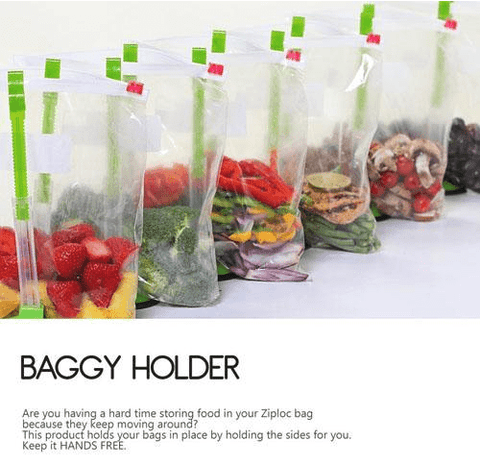 Food Bag Holder Stand