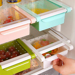 Pull out Refrigerator Drawers Organizer
