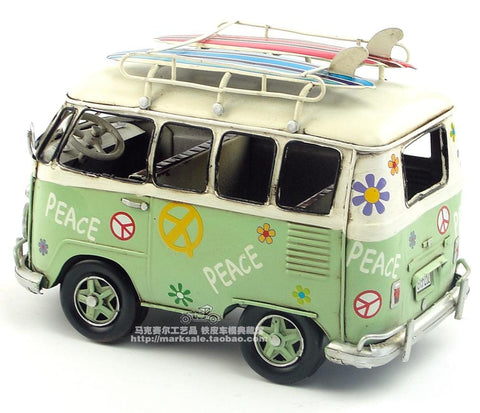 Antique Car Model Volkswagen Vintage Bus