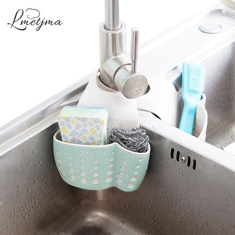 Kitchen Sponge Drain Holder Basket