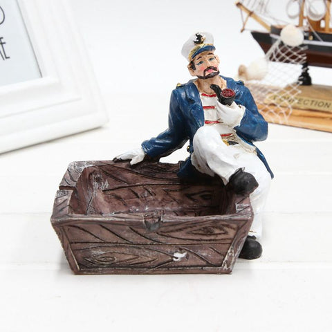 Mediterranean Captain And Crew Ashtrays