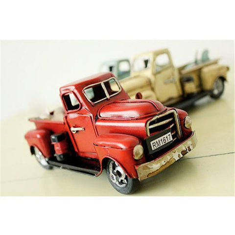 Antique Truck Model Vehicle Auto Café Decor